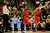 Toronto Raptors point guard John Lucas (5) argues for possession during the second half of the Nuggets' 113-110 win at the Pepsi Center on Monday, December 3, 2012. AAron Ontiveroz, The Denver Post