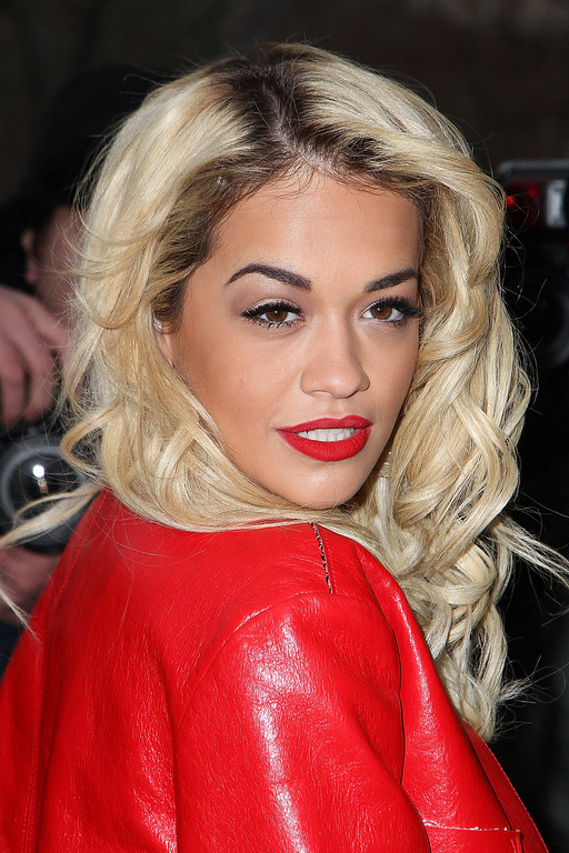 Description of . PARIS, FRANCE - JANUARY 22:  Singer Rita Ora arrives to attend the Chanel Spring/Summer 2013 Haute-Couture show as part of Paris Fashion Week at Grand Palais on January 22, 2013 in Paris, France.  (Photo by Marc Piasecki/Getty Images)
