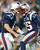 FOXBORO, MA - DECEMBER 10:  Brandon Lloyd #85 of the New England Patriots celebrates his touchdown pass with Tom Brady #12 against the Houston Texans in the first half at Gillette Stadium on December 10, 2012 in Foxboro, Massachusetts. (Photo by Jim Rogash/Getty Images)