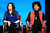 Actors Alana De La Garza (L) and Phylicia Rashad speak onstage at the 