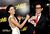 Actors Jaimie Alexander (L) and Johnny Knoxville arrive at the premiere of Lionsgate Films'