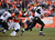 Baltimore Ravens quarterback Joe Flacco (5) scrambles from the pocket in the second quarter. The Denver Broncos vs Baltimore Ravens AFC Divisional playoff game at Sports Authority Field Saturday January 12, 2013. (Photo by Joe Amon,/The Denver Post)