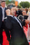 British actor Andy Serkis, who plays Gollum, reacts on the red carpet at the world premiere of 'The Hobbit - An Unexpected Journey' in Wellington November 28, 2012. New Zealand's capital city was taken over by pointy-eared, costumed Hobbit fans on Wednesday, many of whom camped overnight to grab the best spots for the red carpet world premiere of the film later in the day. REUTERS/Mark Coote