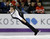 Abzal Rakimgaliev of Kazakhstan performs during the men's short program at the World Figure Skating Championships Wednesday, March 13, 2013, in London, Ontario. (AP Photo/Darron Cummings)