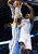 Oklahoma City Thunder guard Reggie Jackson (15) dunks on Denver Nuggets center JaVale McGee (34) in the third quarter of an NBA basketball game in Oklahoma City, Tuesday, March 19, 2013. Denver won 114-104. (AP Photo/Sue Ogrocki)