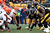 Alex Mack #55 of the Cleveland Browns lines up against Casey Hampton #98 of the Pittsburgh Steelers during their game at Heinz Field on December 30, 2012 in Pittsburgh, Pennsylvania.  (Photo by Karl Walter/Getty Images)
