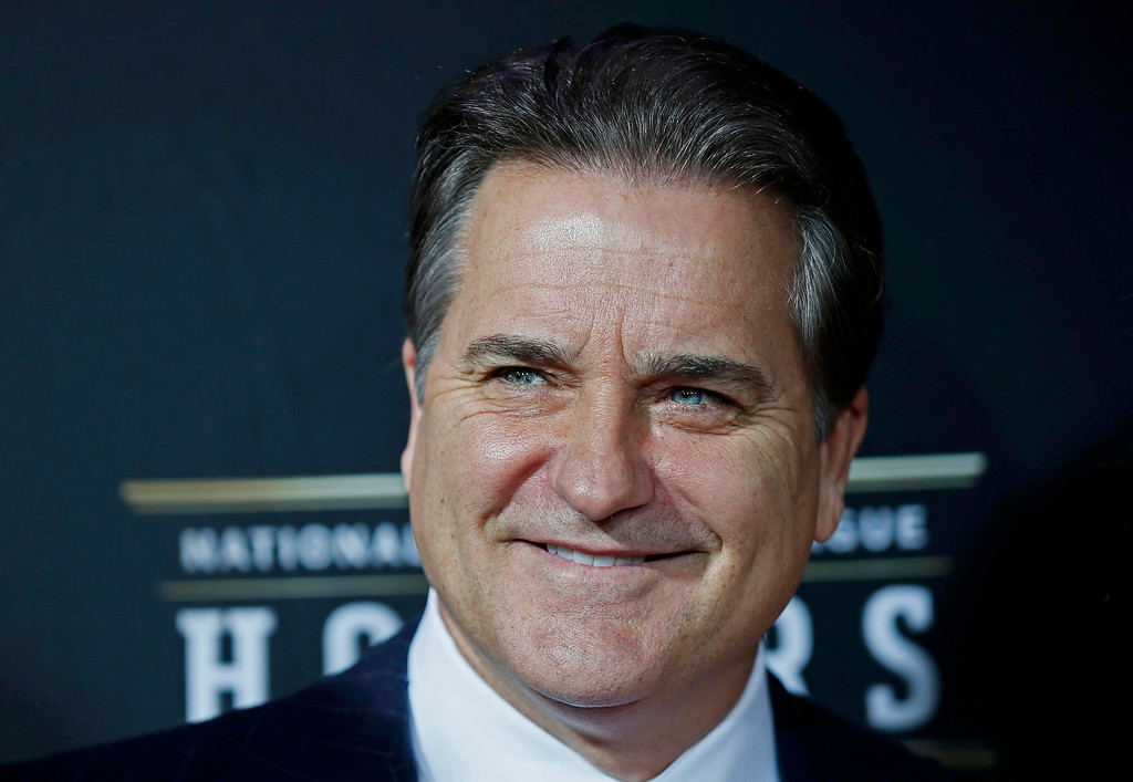Description of . Former NFL head coach Steve Mariucci arrives at the 2nd Annual NFL Honors in New Orleans, Louisiana, February 2, 2013. The San Francisco 49ers will meet the Baltimore Ravens in the NFL Super Bowl XLVII football game February 3.    REUTERS/Lucy Nicholson