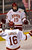 Denver wing Daniel Doremus (19) celebrated a goal with line mate Zac Laraza (16) late in the first period. The University of Denver hockey team hosted Cornell at Magness Arena Saturday night, January 5, 2013. Karl Gehring/The Denver Post