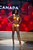 Miss Canada 2012, Adwoa Yamoah, competes during the Swimsuit Competition of the 2012 Miss Universe Presentation Show on Thursday, Dec. 13, 2012 at PH Live in Las Vegas. The 89 Miss Universe Contestants will compete for the Diamond Nexus Crown on December 19.  (AP Photo/Miss Universe Organization L.P., LLLP)