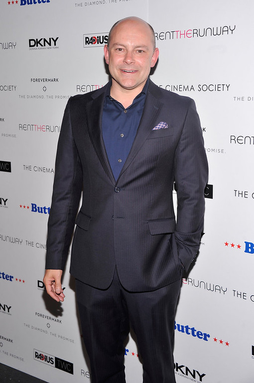"Description of . Actor Rob Corddry attends The Cinema Society with DKNY, Forevermark & RentTheRunway.com premiere of ""Butter\"" at AMC Lincoln Square Theater on September 27, 2012 in New York City.  (Photo by Stephen Lovekin/Getty Images)"