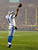 Detroit Lions' Matthew Stafford reacts after rushing for a touchdown during the first half of an NFL football game against the Green Bay Packers Sunday, Dec. 9, 2012, in Green Bay, Wis. (AP Photo/Jeffrey Phelps)