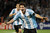 FILE - The Oct. 12, 2012 file photo shows Argentina's Lionel Messi celebrating after scoring against Uruguay during a World Cup 2014 qualifying soccer match in Mendoza, Argentina. Lionel Messi won FIFA world's best footballer award for record 4th straight year Monday, Jan 7, 2013. (AP Photo/Eduardo Di Baia)