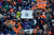 A lone Ravens fan shows his support during the Denver Broncos vs Baltimore Ravens AFC Divisional playoff game at Sports Authority Field Saturday January 12, 2013. (Photo by Tim Rasmussen,/The Denver Post)