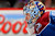Goalie Semyon Varlamov #1 of the Colorado Avalanche looks as he defends the goal against the St. Louis Blues at the Pepsi Center on February 20, 2013 in Denver, Colorado.  (Photo by Doug Pensinger/Getty Images)
