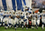 The Indianapolis Colts run out onto the field during introductions to Super Bowl XLI against the Chicago Bears on February 4, 2007 at Dolphin Stadium in Miami Gardens, Florida.  (Photo by Jed Jacobsohn/Getty Images)