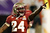 Lonnie Pryor #24 of the Florida State Seminoles celebrates he scored a 60-yard rushing touchdown in the first quarter against the Northern Illinois Huskies during the Discover Orange Bowl at Sun Life Stadium on January 1, 2013 in Miami Gardens, Florida.  (Photo by Streeter Lecka/Getty Images)