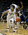 University of Colorado's Askia Booker dribbles past DeWayne Russell during a game against Northern Arizona on Friday, Dec. 21, at the Coors Event Center on the CU campus in Boulder.    (Jeremy Papasso/Daily Camera)
