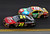 Jeff Gordon #24 leads Kyle Busch, driver of the #18 M&M's Toyota, during the NASCAR Sprint Cup Series Daytona 500 at Daytona International Speedway on February 24, 2013 in Daytona Beach, Florida.  (Photo by Todd Warshaw/Getty Images)