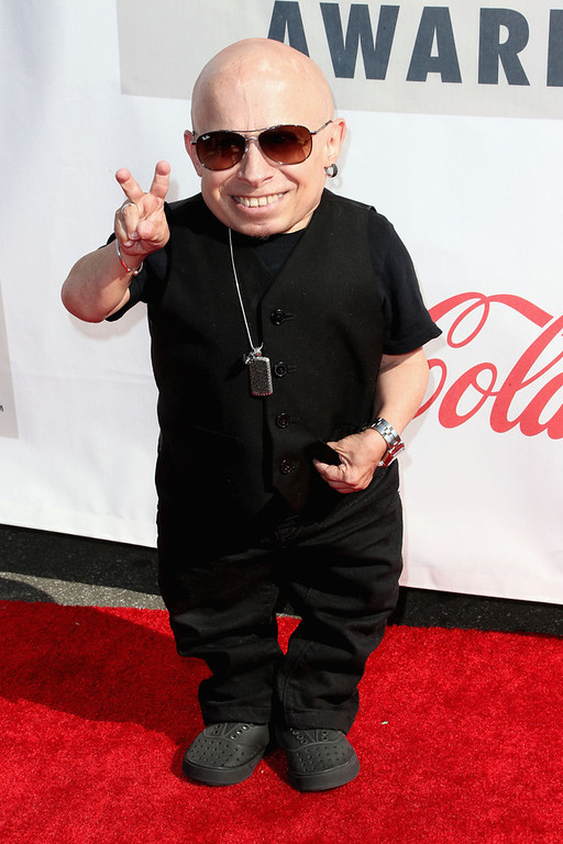 Description of . Actor Verne Troyer attends the 3rd Annual Streamy Awards at Hollywood Palladium on February 17, 2013 in Hollywood, California.  (Photo by Frederick M. Brown/Getty Images)