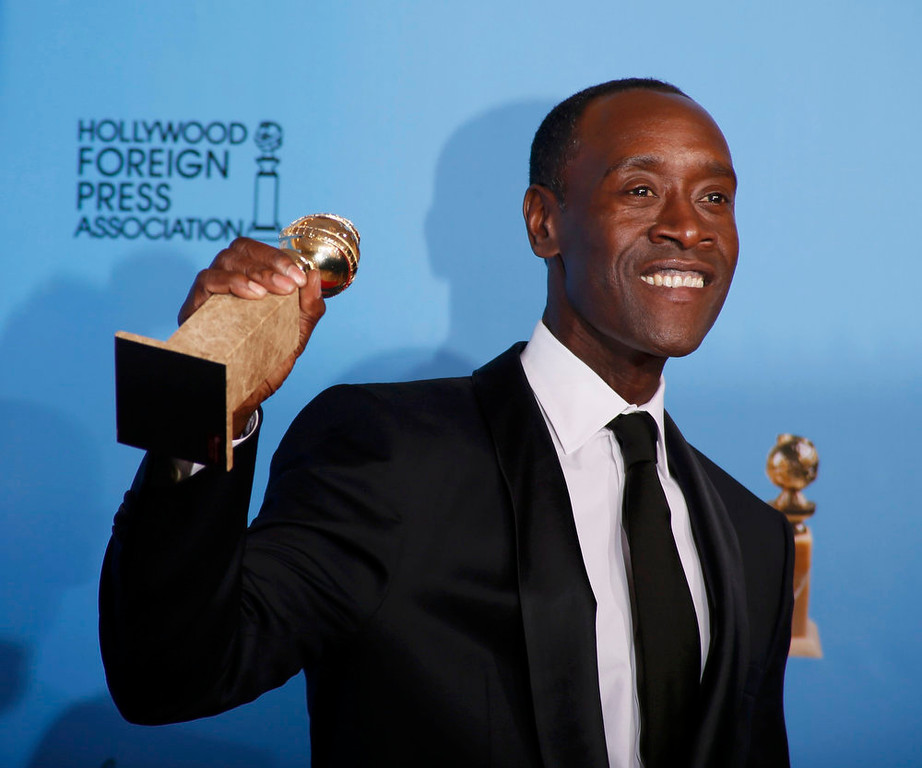 Description of . Best Actor in a Television Series - Comedy or Musical: Don Cheadle, House of Lies