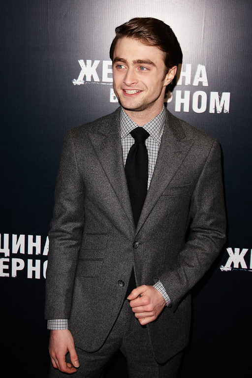 Description of . Actor Daniel Radcliffe attends the premiere of Woman in Black in Oktyabr Cinema on February 15, 2012 in Moscow, Russia. (Photo by Oleg Nikishin/Epsilon/Getty Images)