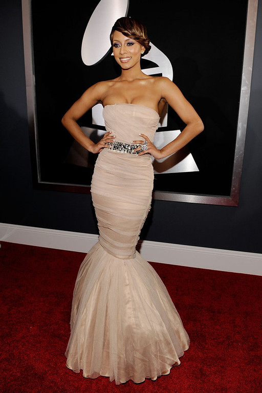 Description of . Singer Keri Hilson arrives at the 52nd Annual GRAMMY Awards held at Staples Center on January 31, 2010 in Los Angeles, California.  (Photo by Larry Busacca/Getty Images for NARAS)