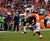Denver Broncos free safety Jim Leonhard #36 breaks up a pass intended for Tampa Bay Buccaneers wide receiver Tiquan Underwood #11 during the second half.  The Denver Broncos vs The Tampa Bay Buccaneers at Sports Authority Field Sunday December 2, 2012. Joe Amon, The Denver Post