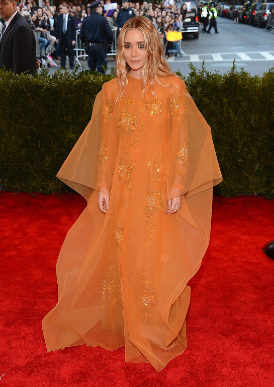 Description of . Ashley Olsen attends the Costume Institute Gala for the