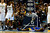 Denver Nuggets small forward Kenneth Faried (35) looks down after being fouled by Golden State Warriors small forward Harrison Barnes (40) during the first half at the Pepsi Center on Sunday, January 13, 2013. AAron Ontiveroz, The Denver Post