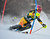 Marie-Michele Gagnon of Canada competes during first run of the FIS women's World Cup slalom in Maribor on January 27, 2013.    Jure Makovec/AFP/Getty Images