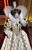 Host Whoopi Goldberg --  dressed as Great Britain's Queen Elizabeth I -- opens the 71st Academy Awards 21 March 1999 at the Dorothy Chandler Pavilion. TIMOTHY A. CLARY/AFP/Getty Images