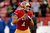 Quarterback Colin Kaepernick #7 of the San Francisco 49ers warms up prior to the NFC Divisional Playoff Game against the Green Bay Packers at Candlestick Park on January 12, 2013 in San Francisco, California.  (Photo by Thearon W. Henderson/Getty Images)