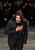 French fashion designer Stephane Rolland reacts after the presentation of his Spring Summer 2013 Haute Couture fashion collection, presented in Paris, Tuesday, Jan.22, 2013. (AP Photo/Christophe Ena)