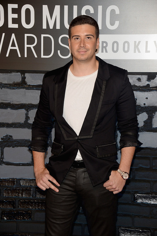 Description of . TV personality Vinny Guadagnino attends the 2013 MTV Video Music Awards at the Barclays Center on August 25, 2013 in the Brooklyn borough of New York City.  (Photo by Jamie McCarthy/Getty Images for MTV)