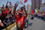 Supporters of the late Venezuelan President Hugo Chavez wait for the passage of the funeral cortege on its way to the Military Academy, on March 6, 2013, in Caracas.   AFP PHOTO/JUAN  BARRETO/AFP/Getty Images