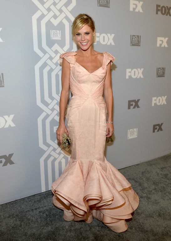 Description of . Actress Julie Bowen attends the Fox Broadcasting Company, Twentieth Century Fox Television and FX celebration of their 2013 EMMY nominees at Soleto on September 22, 2013 in Los Angeles, California.  (Photo by Charley Gallay/Getty Images for FOX)