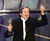 Actor Robin Williams holds up his Oscar after winning in the Best Actor in a Supporting Role category during the 70th Academy Awards 23 March at the Shrine Auditorium in Los Angeles. Williams won for his role as a psychotherapist helping a troubled math genius in