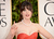Actress Zooey Deschanel arrives at the 70th Annual Golden Globe Awards held at The Beverly Hilton Hotel on January 13, 2013 in Beverly Hills, California.  (Photo by Jason Merritt/Getty Images)