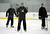 Colorado Avalanche head coach Joe Sacco yells out instructions during practice as the Avalanche return to the ice Sunday, January 13, 2013 at Family Sports Center. John Leyba, The Denver Post