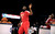 Houston Rockets' James Harden participates at the skills challenge during NBA All-Star Saturday Night basketball in Houston on Saturday, Feb. 16, 2013. (AP Photo/Pat Sullivan)