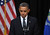 US President Barack Obama speaks at a memorial service for the victims of the Sandy Hook Elementary School shooting on December 16, 2012 in Newtown, Connecticut. Obama will address the memorial for the twenty-six people, 20 of them children, who were killed when a gunman entered Sandy Hook Elementary and began a shooting spree.  MANDEL NGAN/AFP/Getty Images