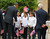 U.S. President Barack Obama interacts with children as he tours the Church of the Nativity in Bethlehem March 22, 2013.   REUTERS/Jason Reed