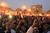 Anti-Mursi protesters chant anti-government slogans at Tahrir Square in Cairo November 27, 2012. Opponents of President Mohamed Mursi clashed with Egyptian police on Tuesday as thousands of protesters stepped up pressure on the Islamist to scrap a decree they say threatens the nation with a new era of autocracy. REUTERS/Mohamed Abd El Ghany