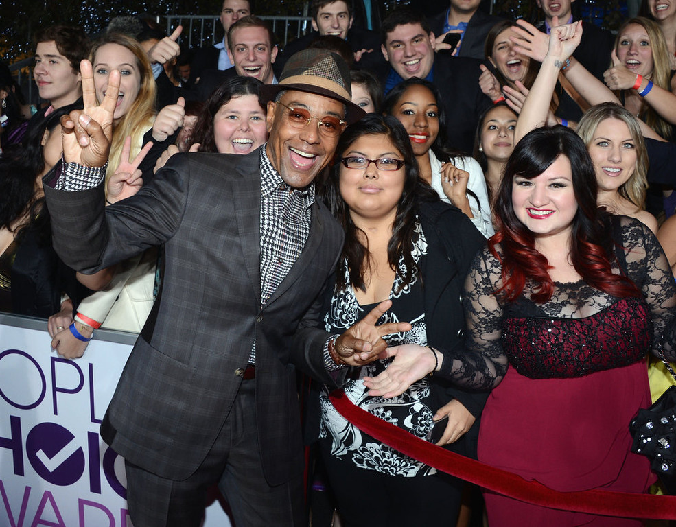 Description of . Actor Giancarlo Esposito attends the 34th Annual People's Choice Awards at Nokia Theatre L.A. Live on January 9, 2013 in Los Angeles, California.  (Photo by Jason Kempin/Getty Images for PCA)