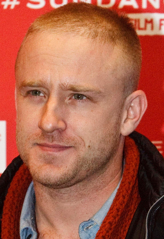 Description of . Ben Foster poses for pictures before the premiere of