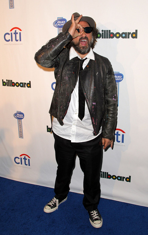 Description of . Mr.Brainwash attends the 2nd Annual Billboard Grammys After-Party at The London Hotel on January 26, 2014 in West Hollywood, California.  (Photo by David Buchan/Getty Images)