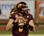 DETROIT, MI - DECEMBER 26:  Ryan Radcliff #8 of the Central Michigan University Chippewas looks to throw a pass in the first quarter of the Little Caesars Pizza Bowl against the Western Kentucky University Hilltoppers at Ford Field on December 26, 2012 in Detroit, Michigan.  (Photo by Mark A. Cunningham/Getty Images)