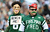 New York Jets fans react during the game against the Arizona Cardinals during their game at at MetLife Stadium on December 2, 2012 in East Rutherford, New Jersey.  (Photo by Al Bello/Getty Images)
