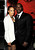 Actor Morris Chestnut (R) and his wife Pam Byse arrive at the premiere of Tri Star Pictures' 