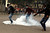 Protesters walk through tear gas during clashes with police near Tahrir Square in Cairo, as anti-Mursi protesters start to gather in the square, November 27, 2012. Opponents of President Mohamed Mursi clashed with Egyptian police on Tuesday as thousands of protesters stepped up pressure on the Islamist to scrap a decree they say threatens the nation with a new era of autocracy.REUTERS/Asmaa Waguih